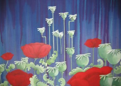 Poppies Bizarre